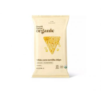 Organic White Corn Tortilla Chips