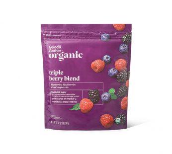 Organic Frozen Triple Berry Blend