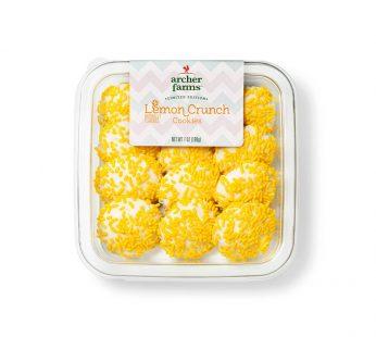 Lemon Cream Crunch Cookies