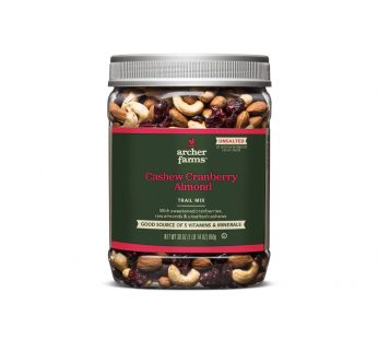 Unsalted Cashew Cranberry Almond Trail Mix