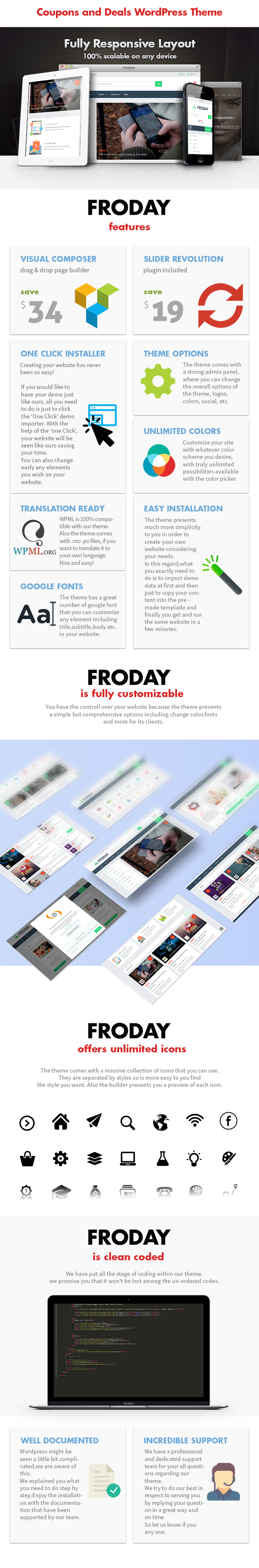 Froday – Coupons and Deals WordPress Theme - 3